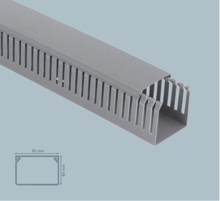 Изображение Кабель-канал Пaнельного типа 40*60 (серый)