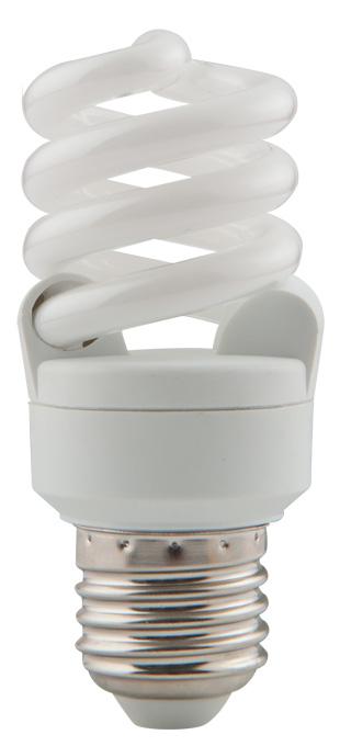 Изображение 1411080  11W/ E27/6400К-лампа энергосберегающая спираль