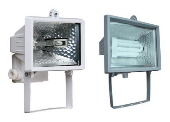 Изображение 3000050 VT-364 500 W Прожектор галоген, черный