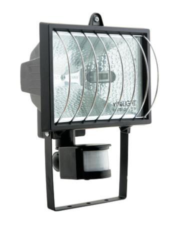 Изображение 3000100 VT-369 150 W Прожектор галогенный белый  с сенсором и решеткой
