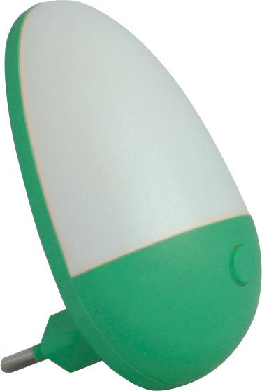 """Изображение 5200040 VT-802L Ночник 220V 1W """"яйцо"""" зеленый"""