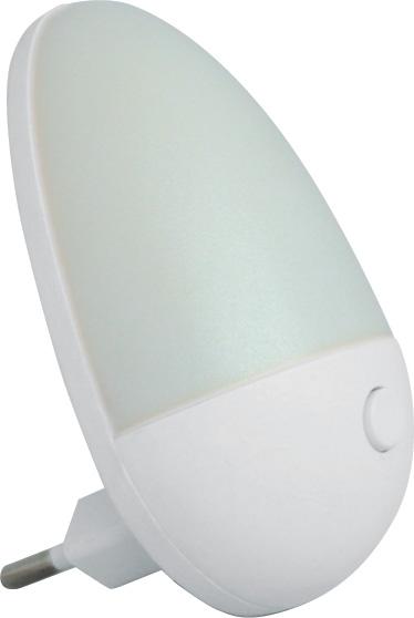 """Изображение 5200060 VT-802L Ночник 220V 1W """"яйцо"""" белый"""