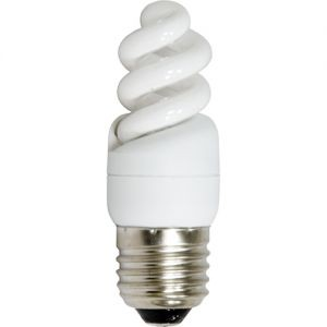 Изображение Лампа энергосберегающая, 13W 230V E14 6400K спираль T2, ELT19