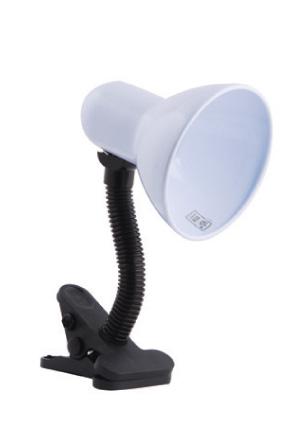 Изображение 5300830 VT-067 Е27, Мах.60W Лампа прищепка (белый)