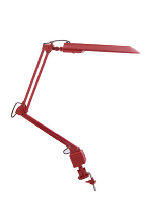 Изображение 5300890 VT-069В  PL 11W Настольная лампа 2-х коленная (чёрный)