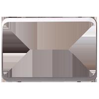 Изображение TUNA комплектующие двойные мет серебро