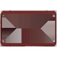 Изображение TUNA комплектующие двойные бордовый