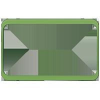Изображение TUNA комплектующие двойные зеленый