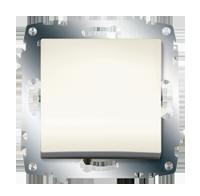 Изображение ZENA модуль крем Выключатель 1 кл