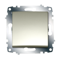 Изображение ZENA модуль титан Выключатель 1 кл