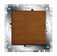 Изображение ZENA модуль вишня Выключатель 1 кл