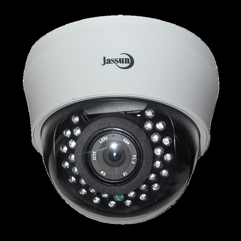 Изображение JSH-D100IR-в/камера купольная 3,6 мм, бел. 1.0 Мр, ИК-подсветка, AHD 720P, CV BS 960H
