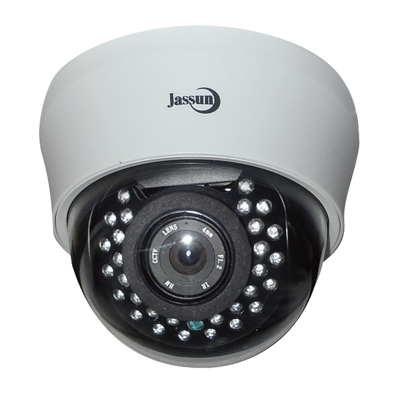 Изображение JSH-D200IR-в/камера цветная купольная 3.6 мм, бел. 2.0 Мр, ИК-подсветка (AHD/CVI/TVI 1080 P, CV BS 960H)