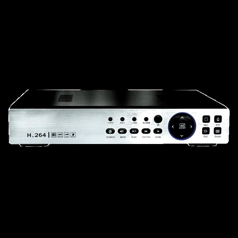 Изображение JSR-H0425 mini 4-х канальный в/регистратор (AHD 1080P/1080N/720P, CV BS 960 H IP 1080P)