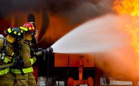 Как правильно тушить пожар