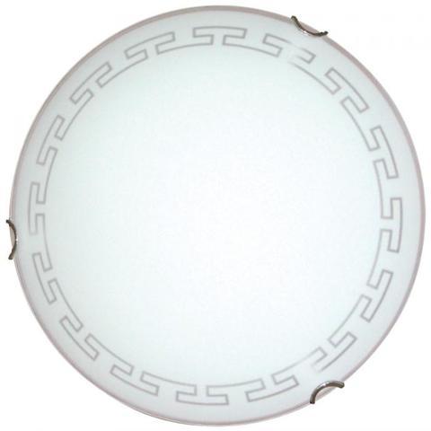 Изображение Этруска 250 1*60W Свет-к матовый белый /хром/ ИУ