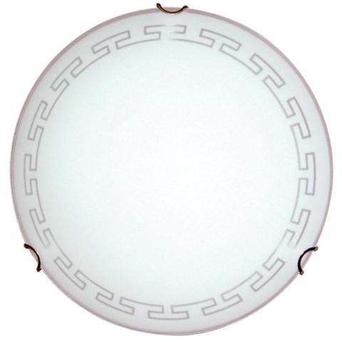Изображение Этруска 250 1*60W Свет-к матовый белый /зол./ ИУ