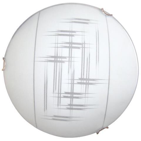 Изображение Элегант 250 1*60W Свет-к матовый белый /хром./ ИУ