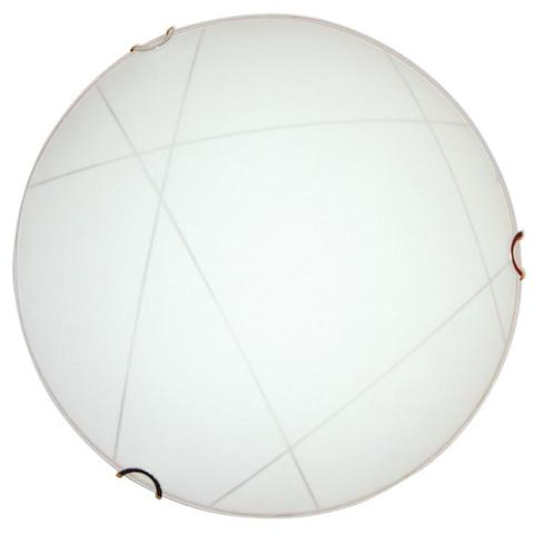 Изображение Контур 300 1*60W Свет-к матовый белый /зол./ ИУ