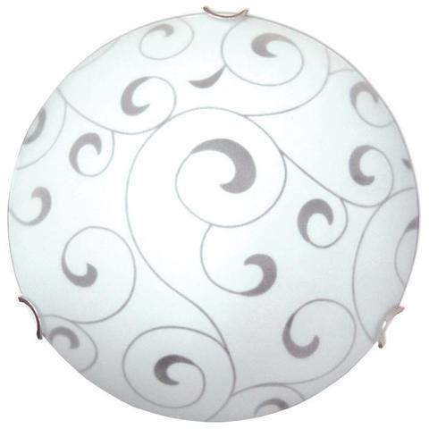Изображение Морокко 300 2*60W Свет-к матовый белый /хром./ ИУ