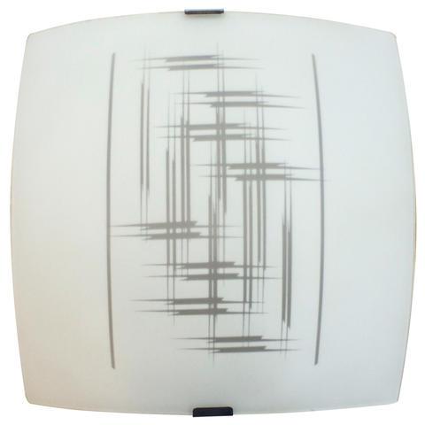 Изображение Элегант 300*300 Свет-к матовый белый /штамп метал./ ИУ