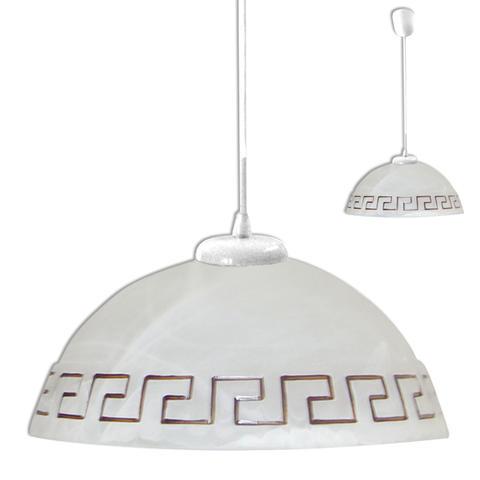 Изображение Этруска мрамор Светильник шнур белый ИУ