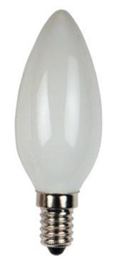 Изображение 1010190  VT143  60W E14 Лампочка свеча матовая