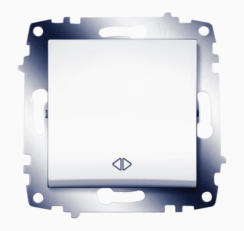 Изображение Basic белый модуль выключатель промежуточный