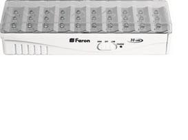 Изображение Свет-к аккумуляторный 30 LED DC белый EL15