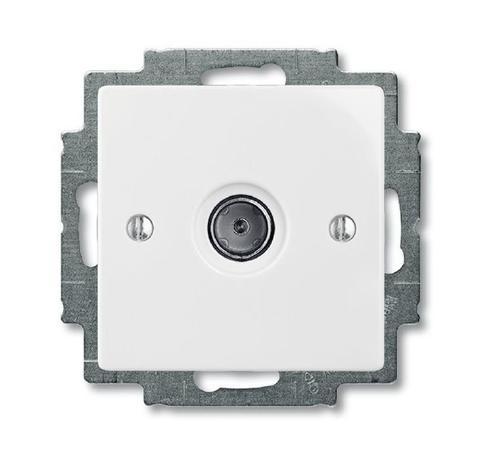 Изображение Basic белый модуль розетка ТВ оконечная