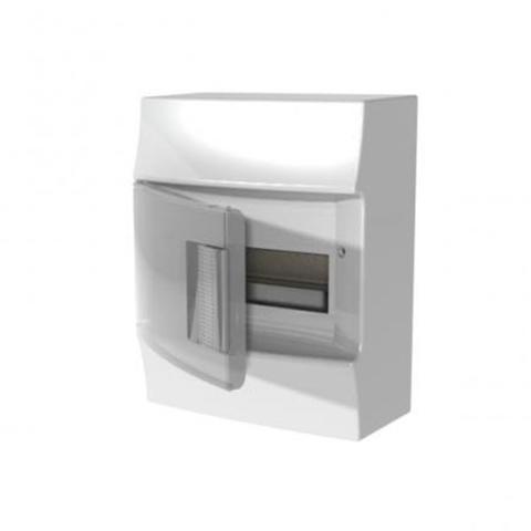 Изображение Бокс настенный Mistral41 8 M прозрачная дверь (с клемм)