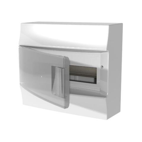 Изображение Бокс настенный Mistral41 12 M прозрачная дверь (с клемм)