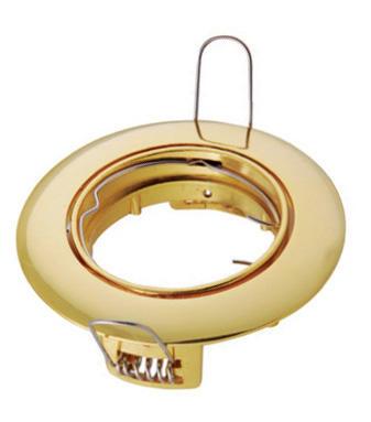 Изображение VT-406 Светильник точечный под галогенную лампу золото