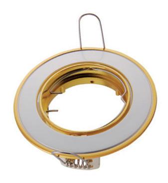 Изображение VT-425 Светильник точечный под галогенную лампу матовый золото