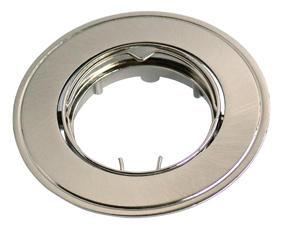 Изображение VT-425 Светильник точечный под галогенную лампу блестящий серый