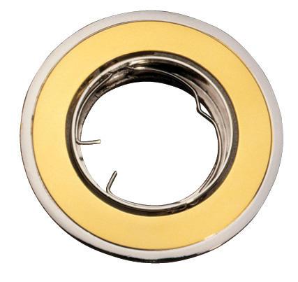 Изображение VT-423 Светильник под галогенную лампу золото+никель