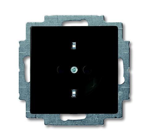 Изображение Basic черная Розетка с/з