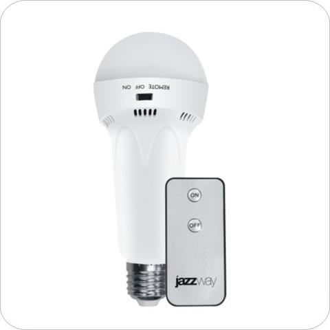Изображение Аккумуляторный фонарь JAZZway Accu9-L3WR-wh (бел)