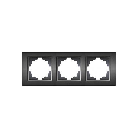 Изображение ZENA чёрный Рамка 3-я горизонтальная