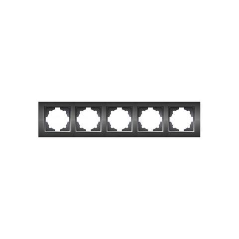 Изображение ZENA чёрный Рамка 5-я горизонтальная