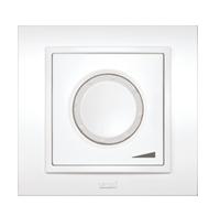Изображение ZENA белый Выключат реостат 800 W с подсветкой