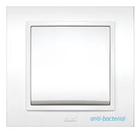 Изображение ZENA белый антибактериальный Выключатель