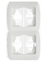 Изображение ZIRVE белый Фикс Рамка 2-я вертикальная