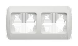Изображение ZIRVE белая+вставка Рамка 2-я горизонтальная