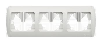 Изображение ZIRVE белая+вставка Рамка 3-я горизонтальная