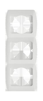 Изображение ZIRVE белая+вставка Рамка 3-я вертикальная