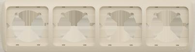 Изображение TUNA бел+вст Рамка 4-я горизонтальная