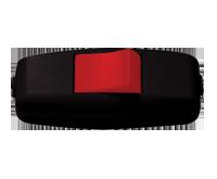 Изображение EL-BI Выключатель навесной (черн-красн)