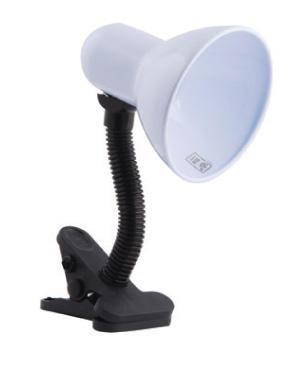 Изображение 5300810 VT-067 Е27, Мах.60W Лампа прищепка (синий)