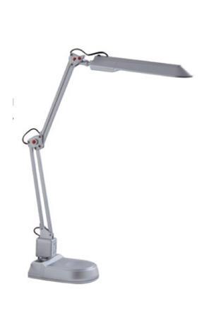 Изображение 5300870 VT-069 PL 11W Настольная лампа 2-х коленная (серебро)
